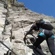 CULONE in arrampicata